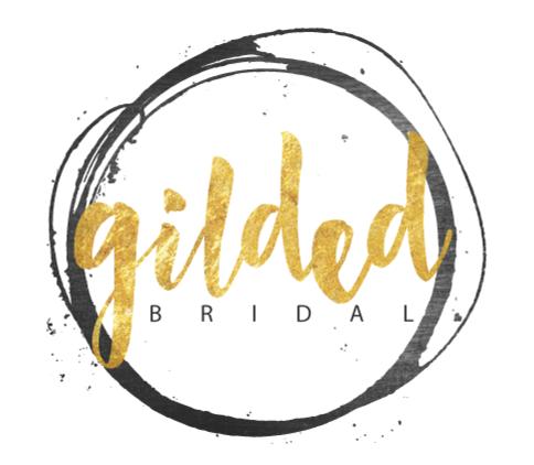 Gilded Bridal Web Logo