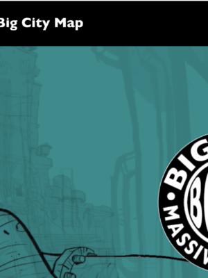 Screenshot of Big City Map website